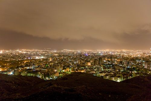 The roof of Tehran. Photo: Quintin Lake