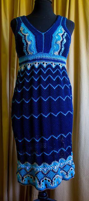 Tejido a crochet con detalles etnicos
