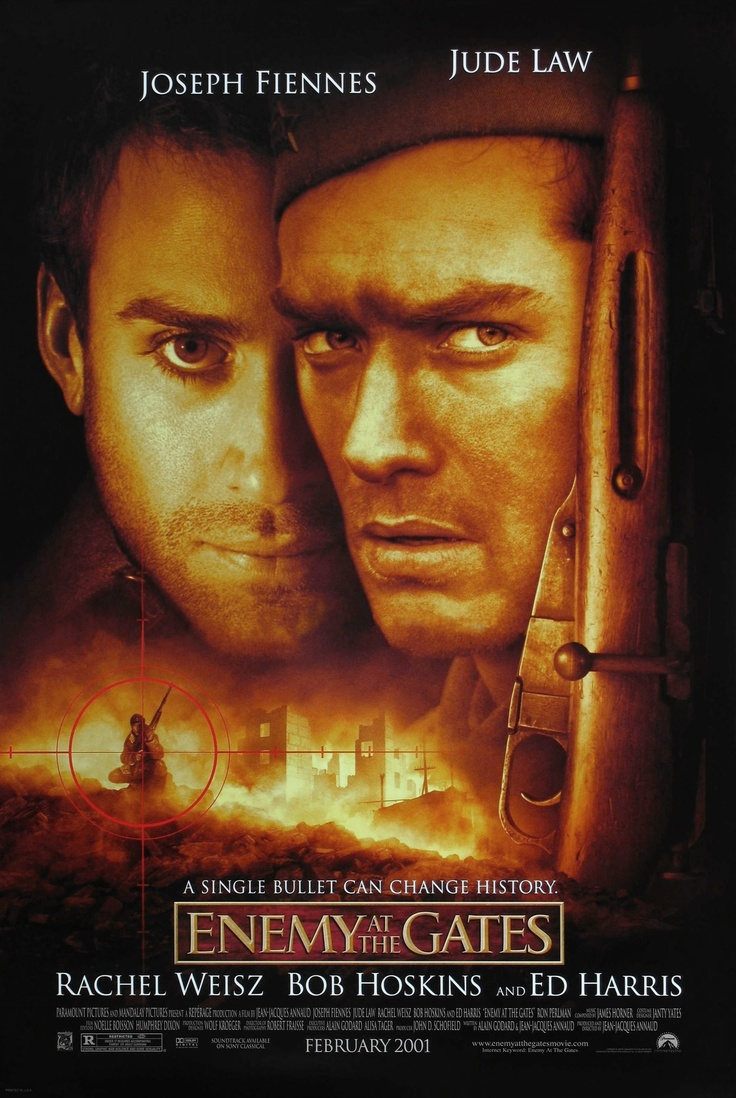 Enemy at the Gates. A film about Russian sniper Vasily