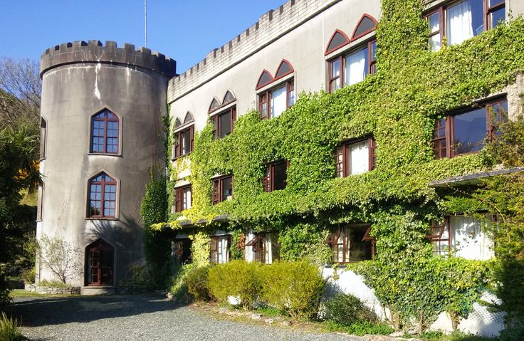 Off the coast of Galway is Abbeyglen Castle, where you can stay in this beautiful castle with an interesting history.
