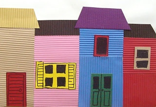 La Boca House Collage