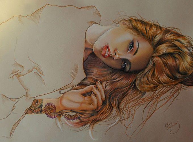 As sensacionais ilustrações de Elena Pancorbo