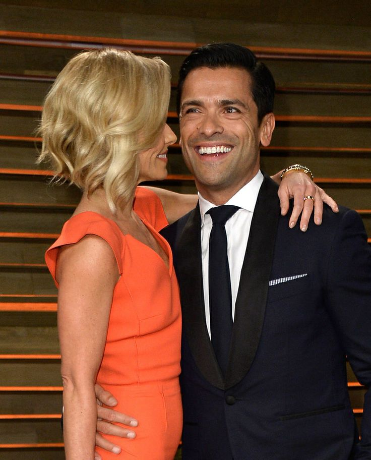 Kelly Ripa's Oscar hair