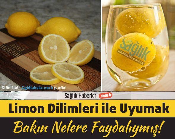 Yanıbaşınızda limon dilimleriyle uyumak, sağlığınıza bakın ne kadar faydalıymış!
