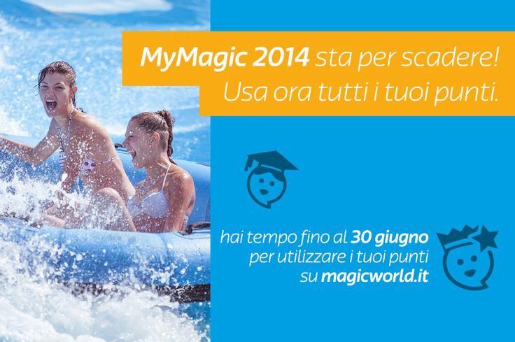 My Magic 2014 sta per scadere! Usa ora i tuoi punti!