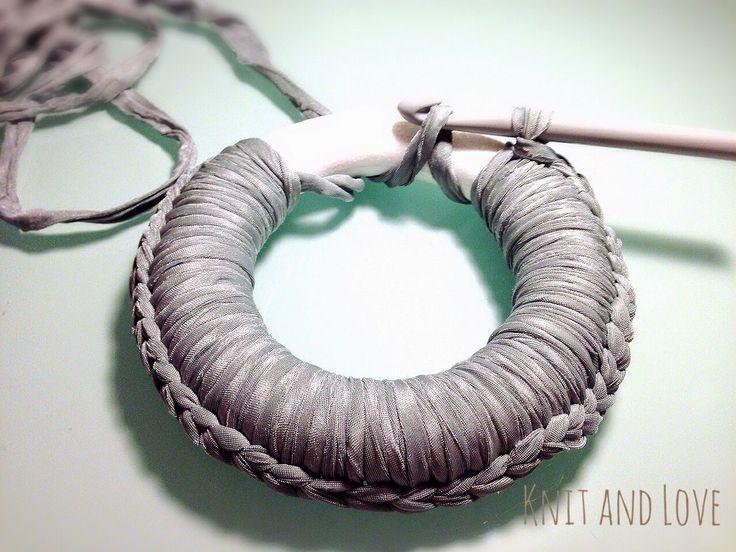 CORONA DE NAVIDAD DE TRAPILLO : Knit and Love