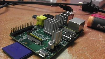 Adding heat sinks to a Raspberry Pi