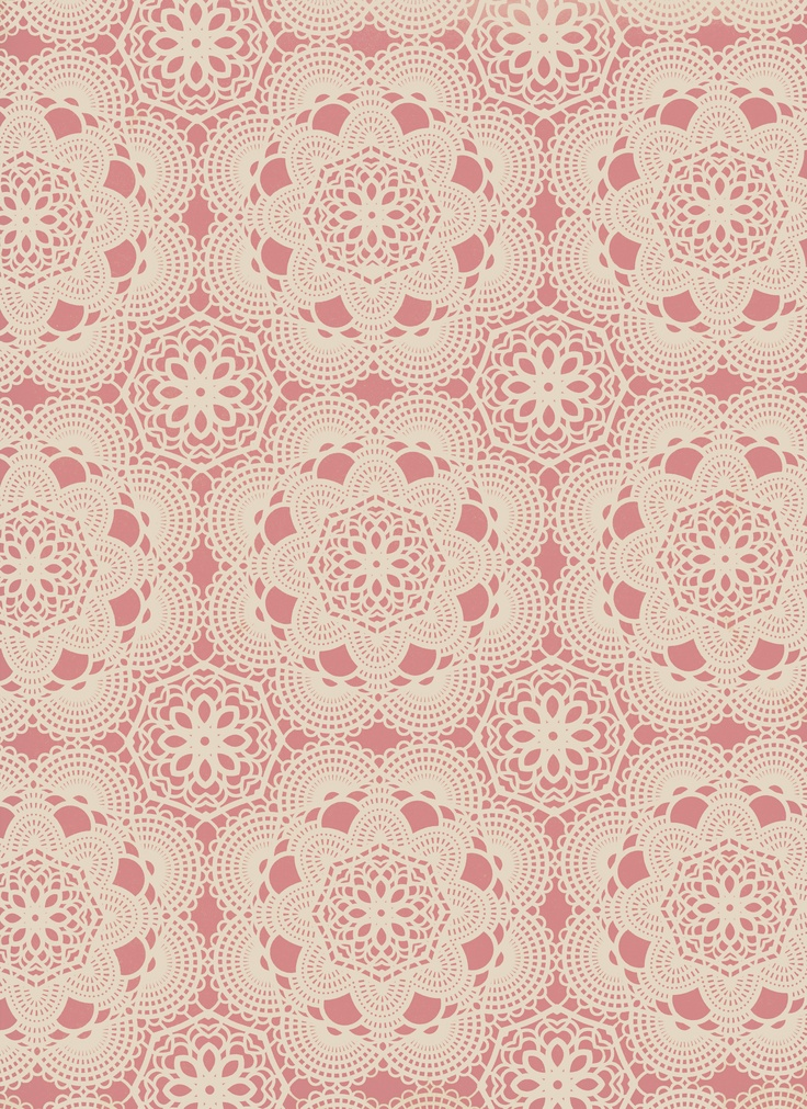 lace inspired pattern - perfect @Kristen Rubin Adcock