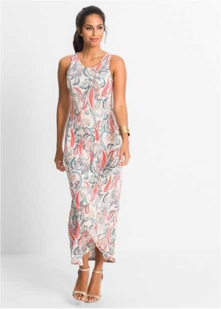 Трикотажное макси-платье, BODYFLIRT, с узором пейсли
