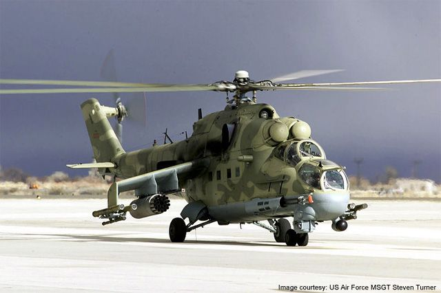 Mi-24P (Mi-25 and Mi-35) Hind Attack / Transport Helicopter - Airforce Technology
