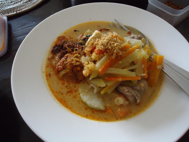 Lontong Sayur Medan #Makanan khas #Indonesia