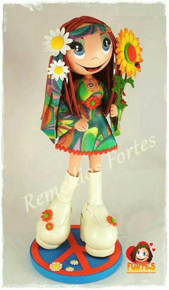 Fofucha hippie