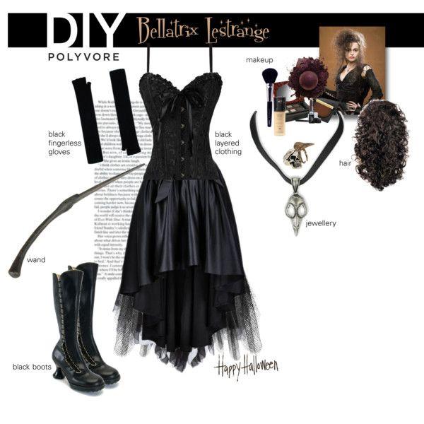 bellatrix lestrange halloween costume diy - Google Search