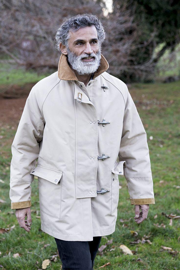 This season's must-have. Italian actor Enrico Lo Verso in his Limited Edition Fay 4 Ganci Jacket.