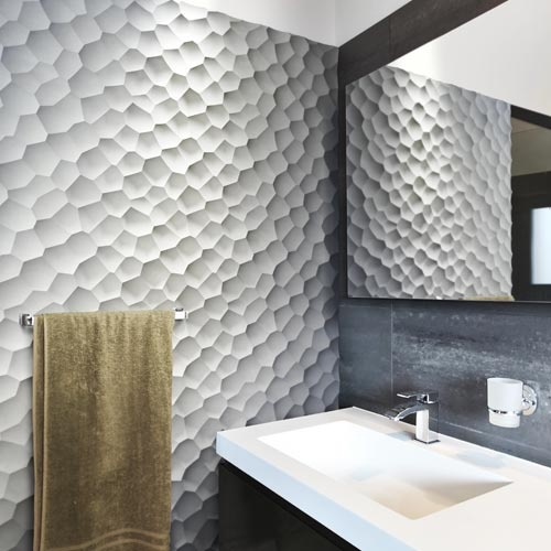 dimensional wall tiles inspiration dimensional pinterest three dimensional tiles cersaie 2012 apartment therapy