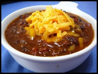 Chili with Chocolate | No Soup for You | Pinterest | Chilis ...