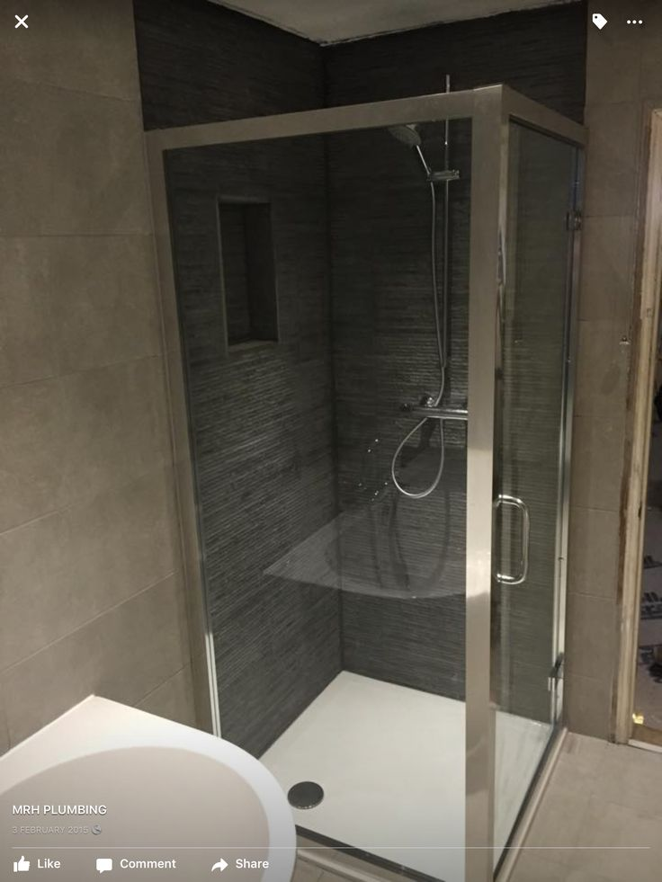 Low level shower cubical