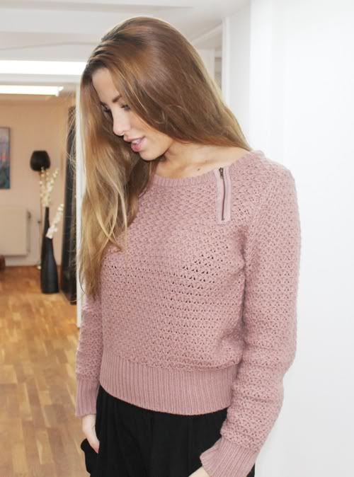 Knit worn by Sarah Louise