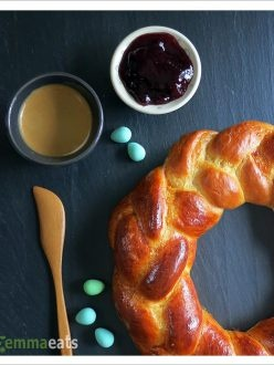 Braided Easter Bread | the BREAD basket (Shared) | Pinterest