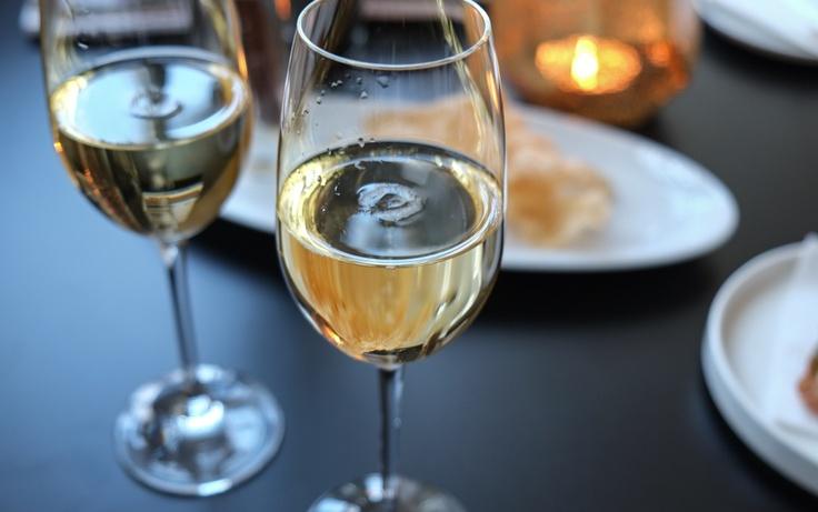 Champagne på Restaurant Varna