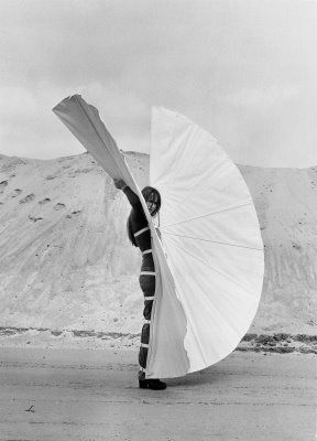 Rebecca Horn | White Body Fan, 1972