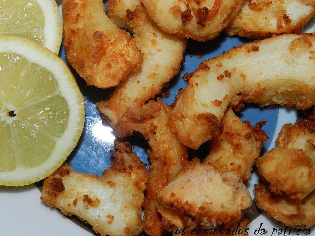 Os Cozinhados da Patrícia: Choco frito na Actifry