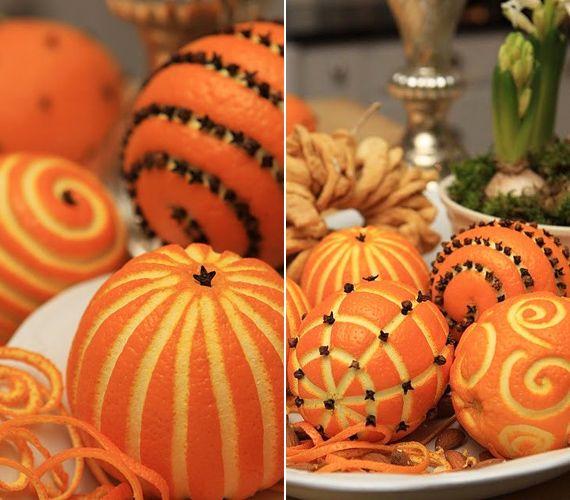 Képeken 12 álomszép karácsonyi dekoráció narancsból | femina.hu