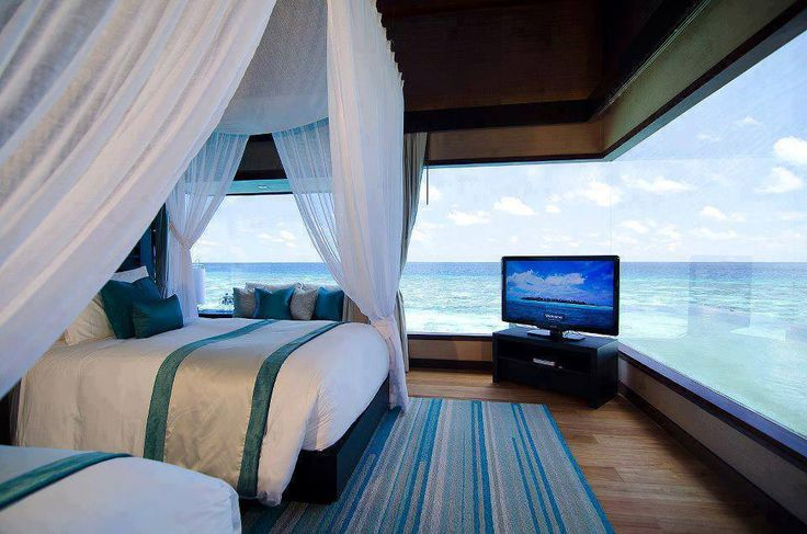 Breathtaking View From Bedroom Maldives Ocean View S