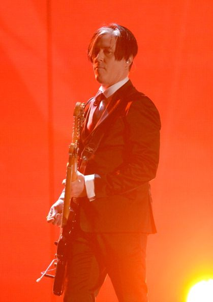 Troy Van Leeuwen at the 56th Annual Grammy Awards