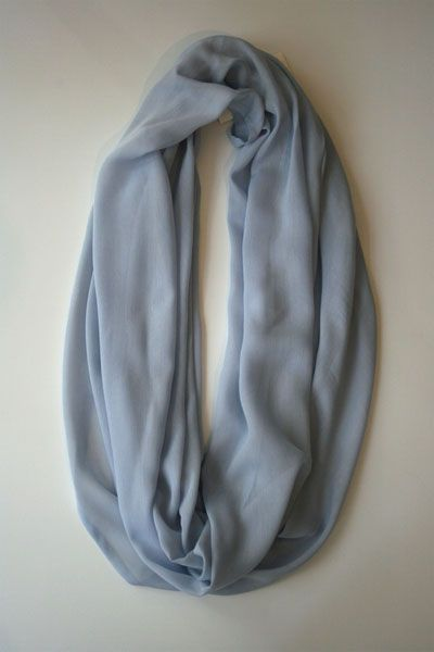 Infinity! This dreamy silk/cotton scarf makes a great gift!