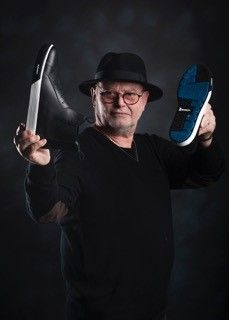 Michel Trama and the GT1pro Magister #chefwear #shoes #chef #chefs #chauddevant