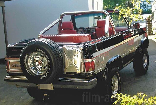 Oldtimer Chevrolet Blazer Cheyenne zum Mieten