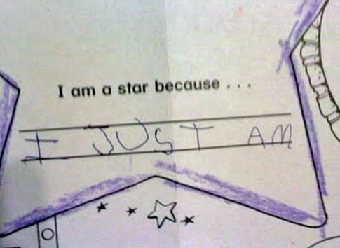 "absolutely LOVE this. ""I am a star because I just am"" via @huffingtonpost"