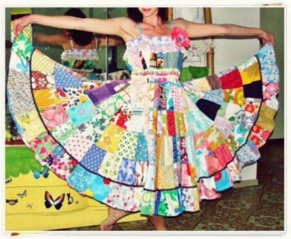 Vestidos de festa Junina - Fotos e Modelos