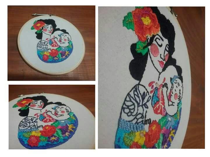 #embroidery #art #arte #bordado  #Carolinasobreira Brasil
