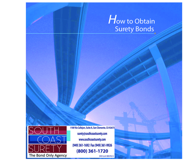 "Get your FREE copy of ""How To Obtain Surety Bonds"""