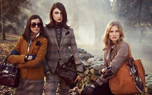 Рекламная кампания осеннее-зимней коллекции Tommy Hilfiger, английская чопорность на лоне природы | Brandgid