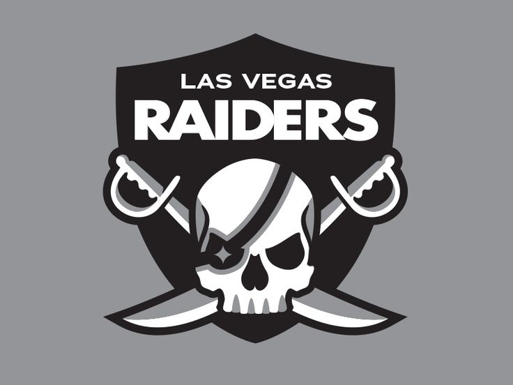 NFL Las Vegas Raiders Logo by Martin Merida
