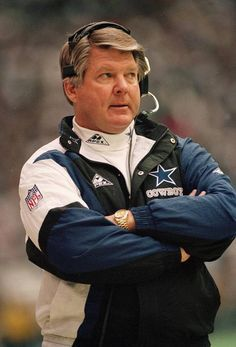 Jimmy Johnson, Head Coach 1989-93 - Super Bowl Champion 1992-93