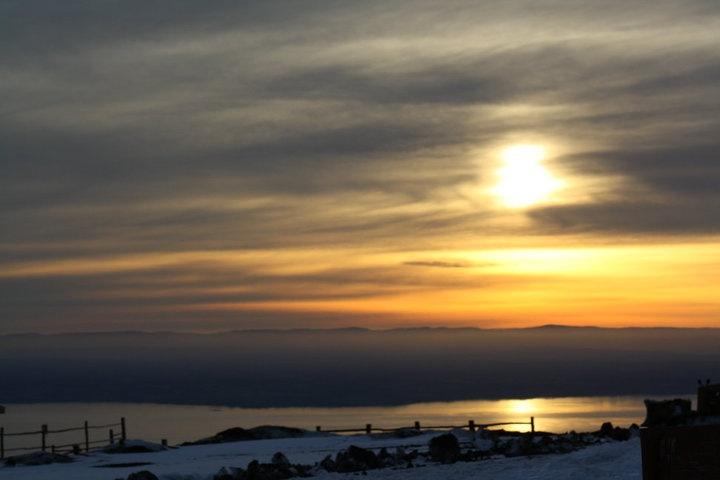snowboard volcan osorno