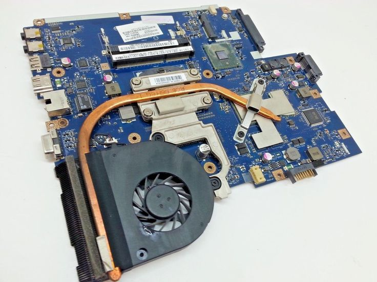 Acer Aspire 5742G Intel CPU Motherboard Heatsink  Fan MB.RJ002.002 LA-5894P 22
