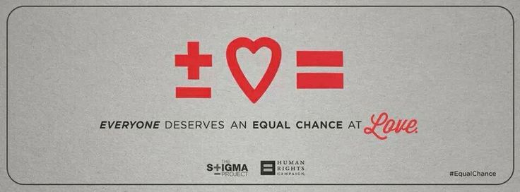 #equalchance #HIV campaign by @Heather Carr @Stigma_Project!