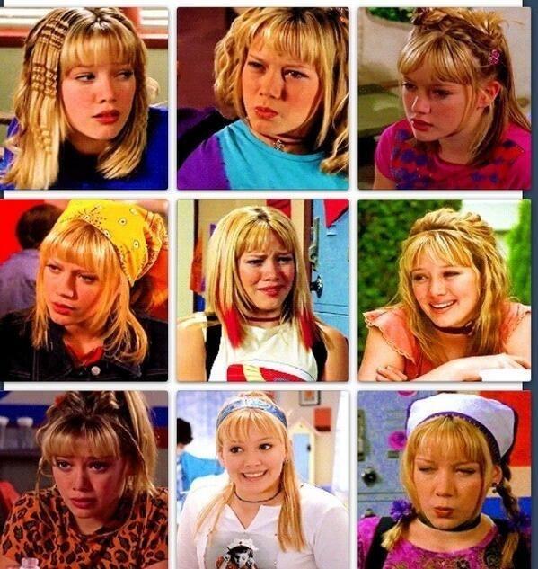 Lizzie McGuire hair appreciation pin