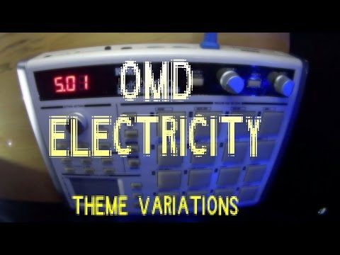 OMD-Electricity, Theme Variations (Korg padKONTROL video)