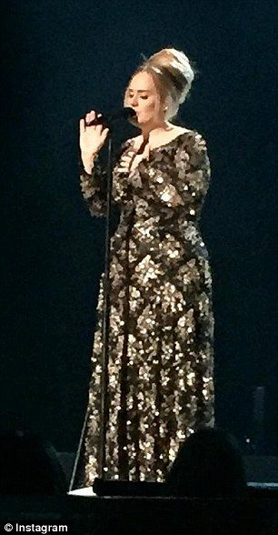 Adele had celebrities and critics alike in the palm of her hand as she returned to the stage in New York for her first full show in four years