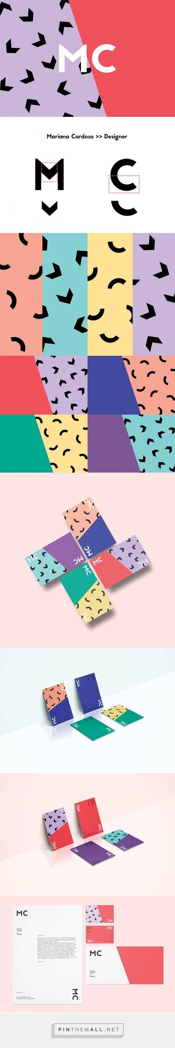 Personal Identity - Mariana Cardoso on Behance | Fivestar Branding – Design and Branding Agency & Inspiration Gallery