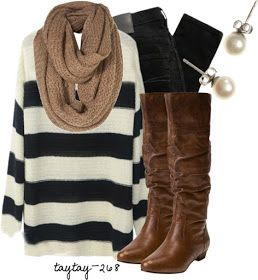 Cozy yet classy!   fall or winter outfit