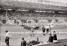 Brooklyn NY Sheepshead Bay Motor Speedway's Wooden Oval Track Car Racing Photo