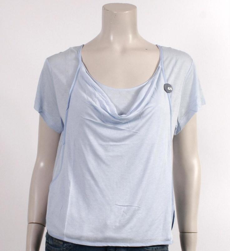 G-Star T-shirt Lichtblauw - NummerZestien.eu