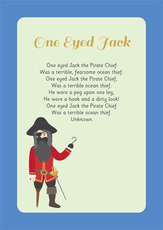 One Eyed Jack – Illustrated Poem